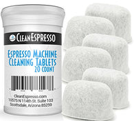 Breville Espresso Machine Cleaning Tablets + 6 Replacement Filters - Model BRF-020 - Breville Espresso Machine Accessories.