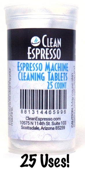 Jura Espresso Machine Cleaning Tablets - 25 Pack