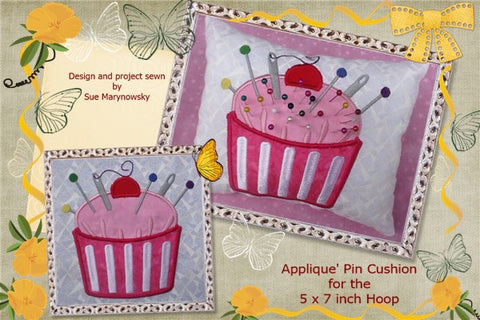 applique cupcake