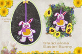 P189- In the hoop Easter Stand Alone Bunny 6 x 8 inch