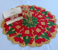 P136-FSL Christmas Doily  No 1.. Large size