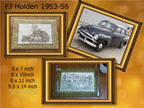 P156-ITH 1953-56 FJ Holden sedan Mat 4 sizes