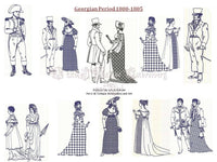 UIU028_Georgian Period Attire 1800 to 1805