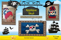 S094_Applique Skull 2