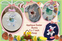S140-Applique Easter Bunny