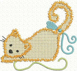 UIU013-Cross Stitch Cats