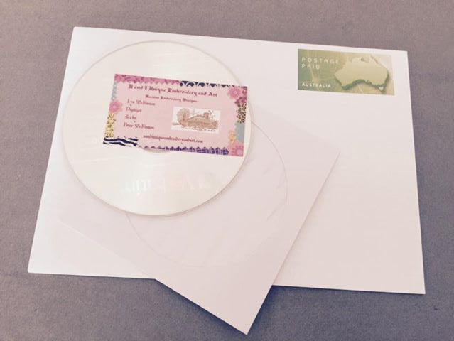 CD and postage