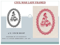 S001-Civil War Lady Single Design