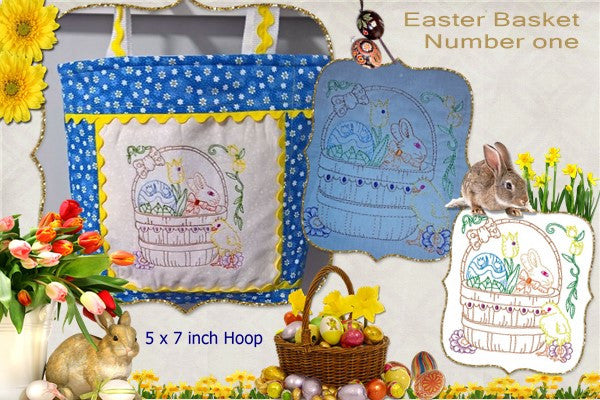 P150_Easter Basket One