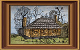 P157-Embroidery Art The Cottage 300 x 200