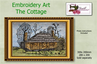P158-Embroidery Art The Cottage 280 x 200