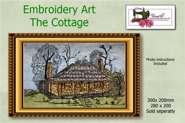 P160-Embroidery Art The Cottage