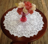 P072-Free standing Lace Doily No 3 for 5 x 7 inch Hoop