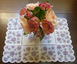 P118_Free standing Lace table runner, place mat or Doily