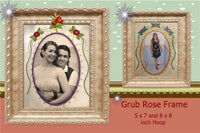 P133_ Grub Rose Frame 2 sizes included
