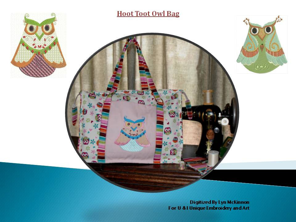 UIU080-Hoot Toot Owl Bag Project