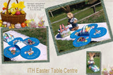 P187-In the hoop Easter Table Centre