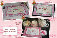 P086-ITH Teatime table mat No 1