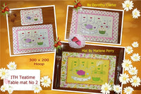 P092_ITH Teatime Table mat No 2,,, 300 x 200 mm