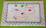 P102_ITH Tea time table mat and mug rug No 3
