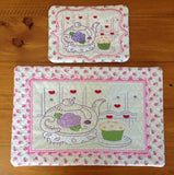 P094_ITH Teatime Mug rug and Kitchen mat No 2