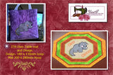 P168-ITH DINO Table Mat and Design