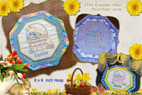P151-ITH Easter Mat one