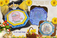 P153-ITH Easter Mat Two