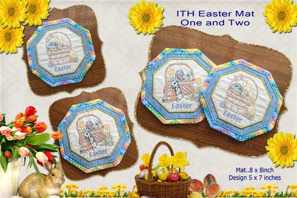 P155-ITH Easter Mat 1 and 2