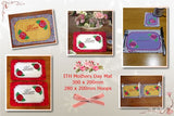 P168-ITH MUM Table Mat