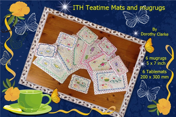 P110_ITH Teatime mats and Mugrugs set