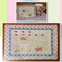 P100_ITH Teatime Table mat and Mug rug No 4