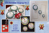 P141_ITH Reindeer mugrug/Table mat Combo No 2