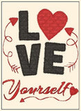 S086-Love yourself Valentine design