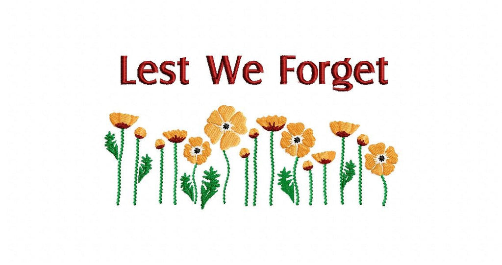 S043-LEST WE FORGET