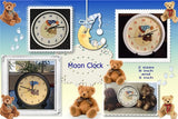 P132_Moon Clock 2 sizes included