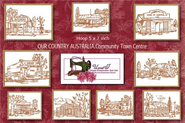 UIU093-OUR COUNTRY AUSTRALIA....Community Town Centre