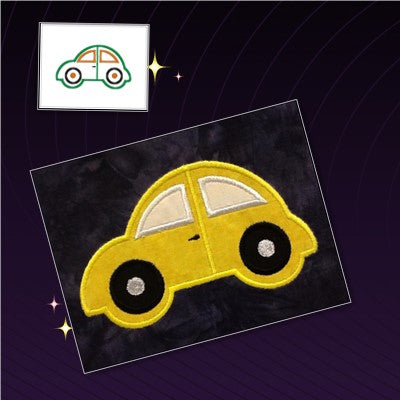 S112-Applique beetle car