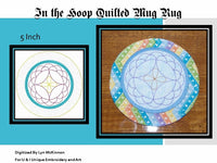 P048-In The Hoop Quilted Mug Rug 5 inch