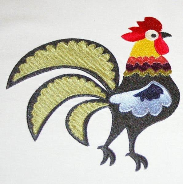 S072-Jacobean Rooster