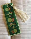 P016-IN THE HOOP FELT SNAIL BOOKMARK