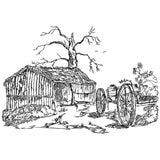 LD009-The Wagon shed Large