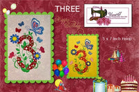 S110-Butterfly Birthday Three
