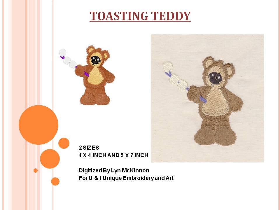 S010-Toasting Teddy