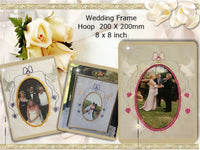 P134_Wedding Frame 8 x 8 inch (200 x 200mm)