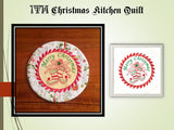 P039a_In The Hoop Christmas Kitchen Quilt