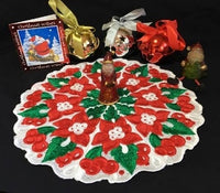 P135-FSL Christmas Doily  No 1