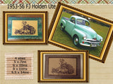 P091-ITH FJ 1953-56 Holden Ute Mat   4 sizes