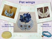 S076-RIP free standing lace Pet wings