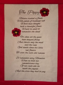 P059 the poppy poem u and i unique embroidery and art p059 the poppy poem mightylinksfo